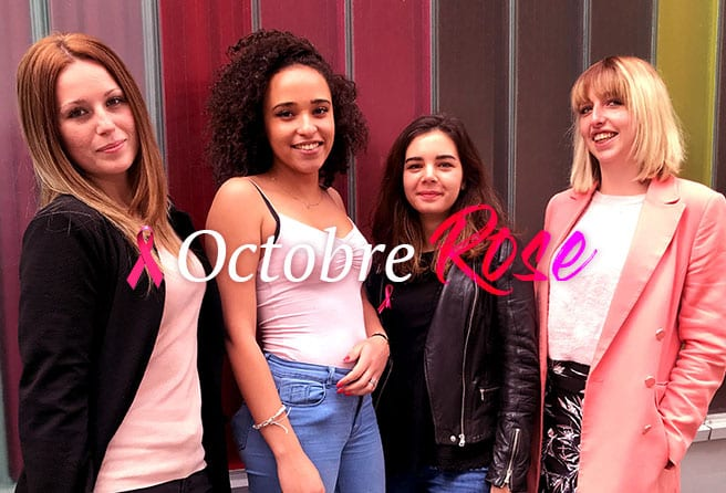 Etudiants - Eidm, octobre rose